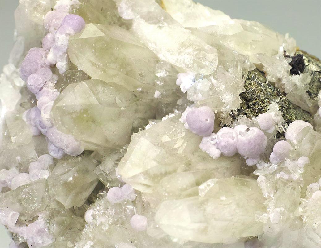 画像2: 【ペルー産鉱物】 水晶/リチア雲母01(クォーツ/レピドライト)