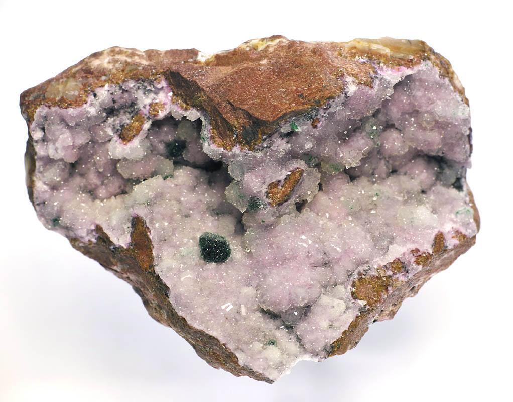 画像5: 【コンゴ産鉱物】 コバルト苦灰石/水晶01(コバルト・ドロマイト/クォーツ)