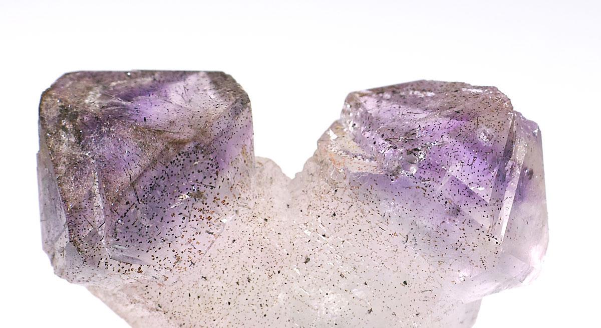 画像2: 【マダガスカル産鉱物】 松茸紫水晶・日本式双晶01(セプターアメジスト・ジャパニーズローツイン)